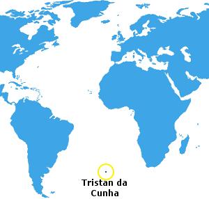 Tristan da Cunha's Location