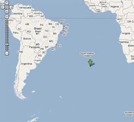 Nearest Island to Tristan Da Cunha
