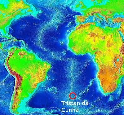 About Tristan TristanDaCunhaorg - Tristan da cunha map